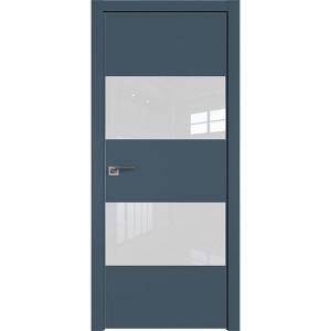 Дверь профиль дорс 10Е Антрацит - со стеклом