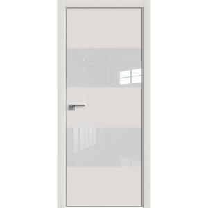 Дверь профиль дорс 10Е Дарк вайт - со стеклом