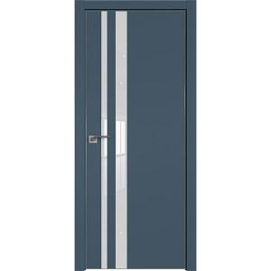 Дверь профиль дорс 16Е Антрацит - со стеклом