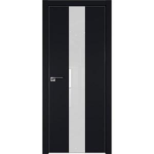 Дверь профиль дорс 25Е Черный матовый - со стеклом
