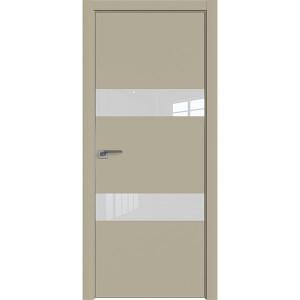 Дверь Профиль дорс 34Е Шеллгрей - со стеклом