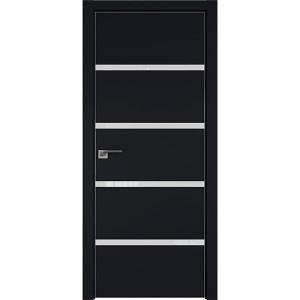 Дверь Профиль дорс 20E Черный матовый - со стеклом