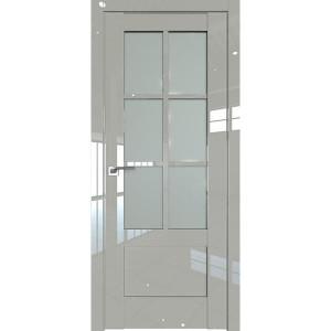 Дверь Профиль дорс 103L Галька люкс - со стеклом