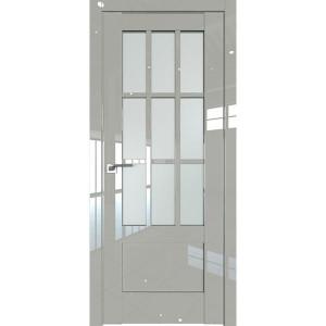 Дверь Профиль дорс 104L Галька люкс - со стеклом