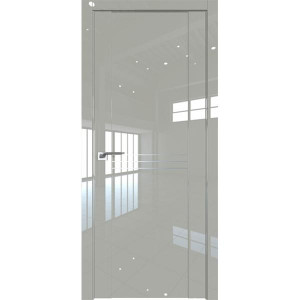 Дверь Профиль дорс 150L Галька люкс - глухая