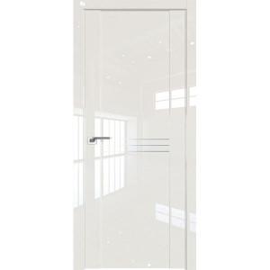 Дверь Профиль дорс 150L Магнолия люкс - глухая