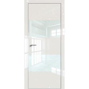 Дверь Профиль дорс 10LK Магнолия люкс - со стеклом