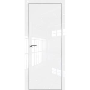 Дверь Профиль дорс 1LK Белый люкс - глухая