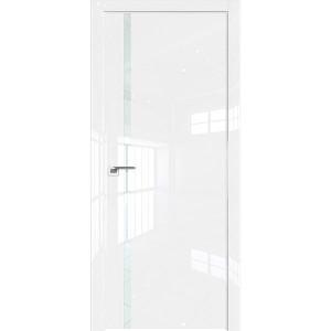 Дверь Профиль дорс 22LK Белый люкс - со стеклом