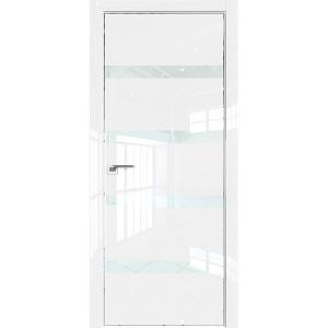 Дверь Профиль дорс 26LK Белый люкс - со стеклом