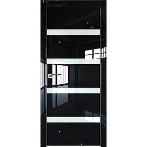 Дверь Профиль дорс 26LK Черный люкс - со стеклом