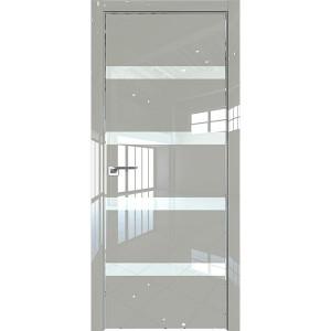Дверь Профиль дорс 26LK Галька люкс - со стеклом