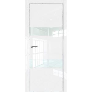 Дверь Профиль дорс 34LK Белый люкс - со стеклом