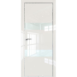 Дверь Профиль дорс 34LK Магнолия люкс - со стеклом