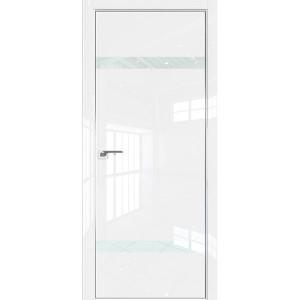 Дверь Профиль дорс 3LK Белый люкс - со стеклом