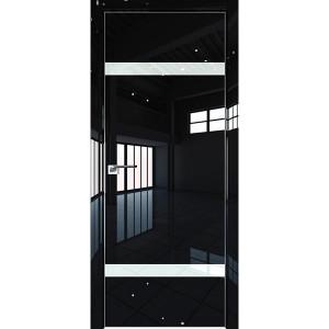 Дверь Профиль дорс 3LK Черный люкс - со стеклом