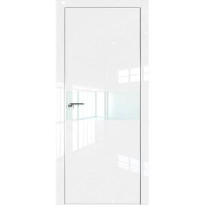 Дверь Профиль дорс 4LK Белый люкс - со стеклом