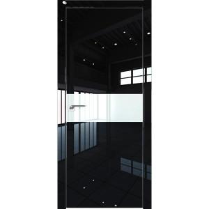 Дверь Профиль дорс 4LK Черный люкс - со стеклом
