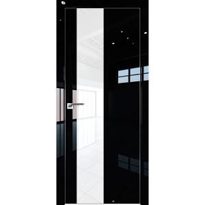 Дверь Профиль дорс 5LK Черный люкс - со стеклом