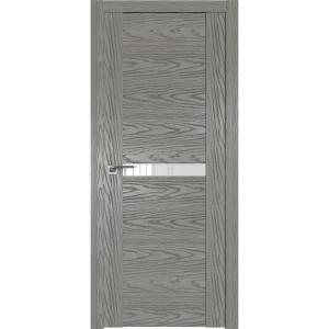 Дверь Профиль дорс 2.01N Дуб скай деним - со стеклом