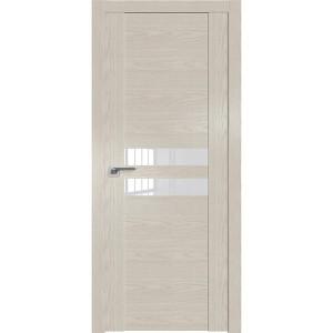 Дверь Профиль дорс 2.03N Дуб скай белёный - со стеклом