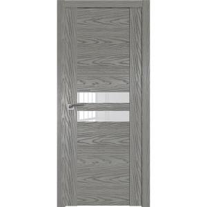 Дверь Профиль дорс 2.03N Дуб скай деним - со стеклом