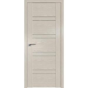 Дверь Профиль дорс 2.80N Дуб скай белёный - со стеклом