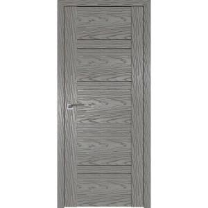 Дверь Профиль дорс 2.80N Дуб скай деним - со стеклом