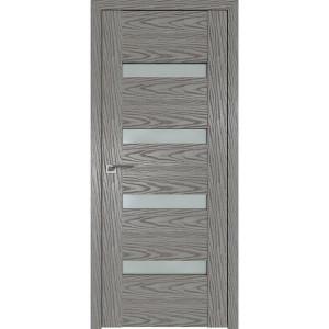 Дверь Профиль дорс 2.81N Дуб скай деним - со стеклом