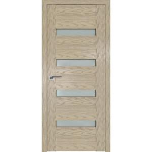 Дверь Профиль дорс 2.81N Дуб скай крем - со стеклом