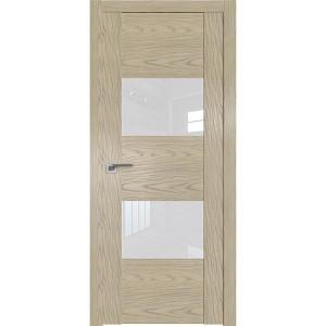Дверь Профиль дорс 21N Дуб скай крем - со стеклом