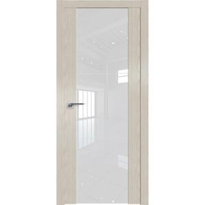 Дверь Профиль дорс 22N Дуб скай белёный - со стеклом