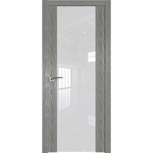 Дверь Профиль дорс 22N Дуб скай деним - со стеклом