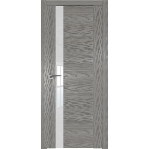 Дверь Профиль дорс 62N Дуб скай деним - со стеклом