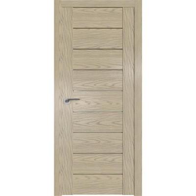 Дверь Профиль дорс 98N Дуб скай крем - со стеклом