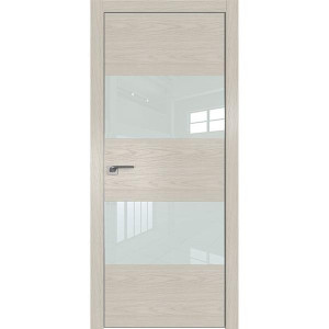 Дверь Профиль дорс 10NK Дуб скай беленый - со стеклом