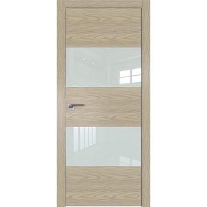 Дверь Профиль дорс 10NK Дуб скай крем - со стеклом