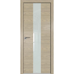 Дверь Профиль дорс 25NK Дуб скай крем - со стеклом