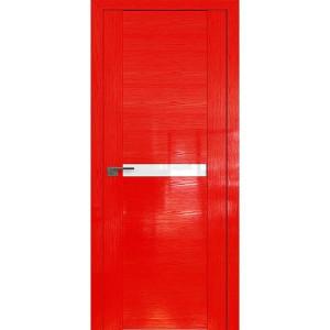 Дверь Профиль дорс 2.01STP Pine Red glossy - со стеклом