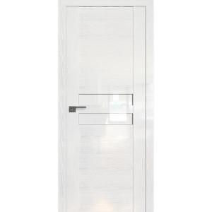 Дверь Профиль дорс 2.03STP Pine White glossy - со стеклом