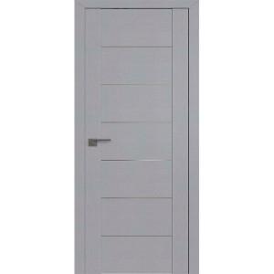 Дверь Профиль дорс 2.07STP Pine Manhattan Grey - глухая алюминиевый молдинг