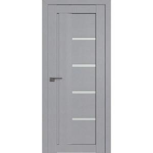 Дверь Профиль дорс 2.08STP Pine Manhattan Grey - со стеклом