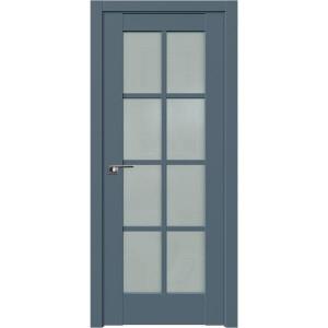 Дверь Профиль дорс 101U Антрацит - со стеклом