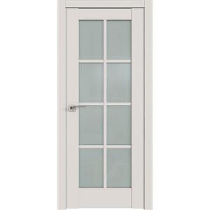 Дверь Профиль дорс 101U Дарк вайт - со стеклом