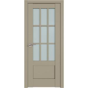 Дверь Профиль дорс 104U Шеллгрей - со стеклом