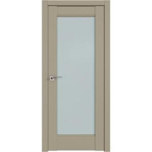 Дверь Профиль дорс 107U Шеллгрей - со стеклом