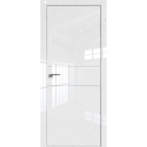 Дверь Профиль дорс 41VG Белый глянец