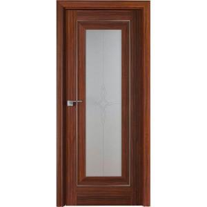 Дверь Профиль дорс 24Х Орех амари - со стеклом