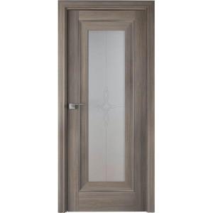 Дверь Профиль дорс 24Х Орех пекан - со стеклом