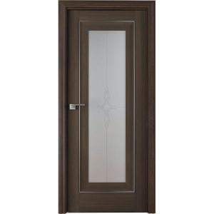 Дверь Профиль дорс 24Х Орех сиена - со стеклом